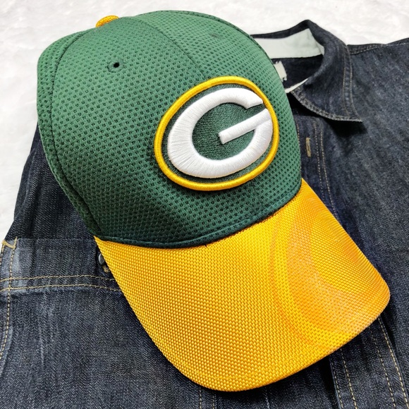 New Era Green Bay Packers NFL Hat Sz Med  Large 759e67663
